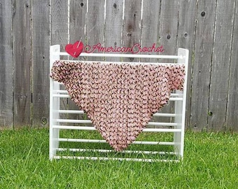 Soft Cherries Baby Blanket Crochet Pattern