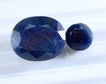 untreated stone ceylon ct natural gems blue sapphire real neelam sold