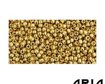 METALLIC STARLIGHT (PF557): 15/o Toho Japanese Seed Beads (10 grams)