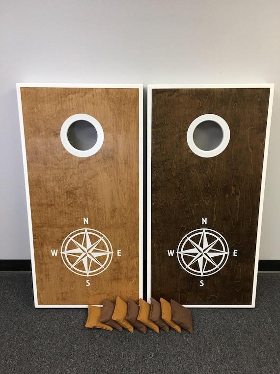 Custom Cornhole/Bags/Baggo Tailgate Game