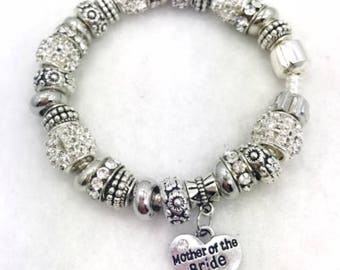 Mother Of The Bride Charm Bracelet