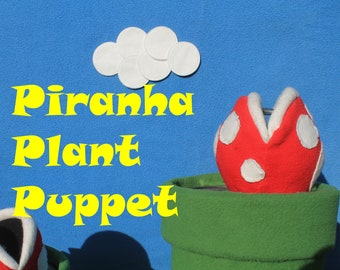 Piranha Plant Puppet