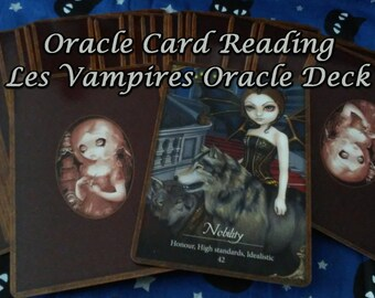 Oracle Card Reading with the Les Vampires Oracle Deck
