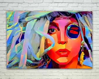 Lady Gaga - Lady Gaga Poster,Lady Gaga  Art,Lady Gaga Print,Lady Gaga Poster,Lady Gaga Merch,Lady Gaga Wall Art,Lady Gaga Fan Art,Modern