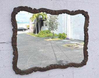 Carved Wall Mirror 8357