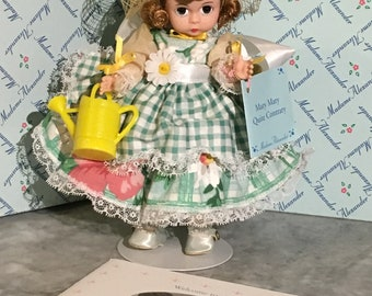 Vintage Madame Alexander Mary Quite Contrary with Box and Papers