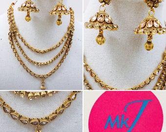 Necklace and Earrings (Chumka) Set