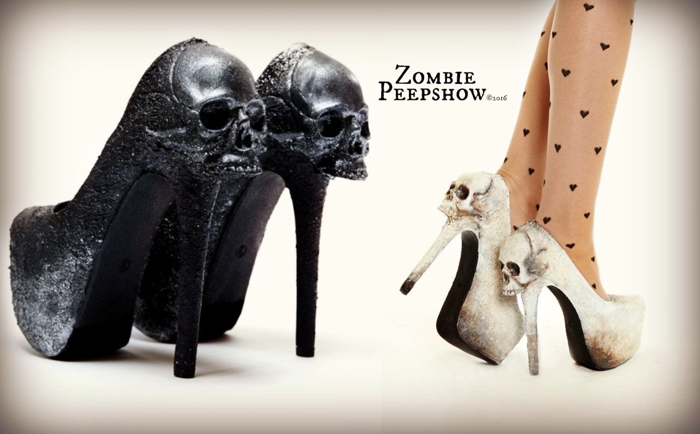 Skull Purgatory Pump Heels