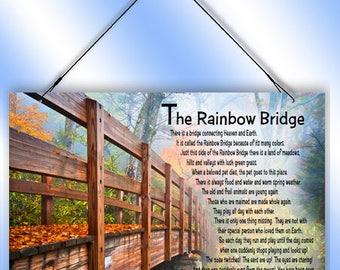 Rainbow Bridge Decorative Window Sun Catcher from Redeye Laserworks