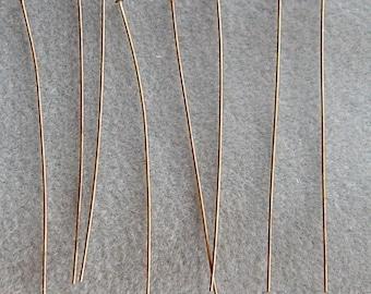 70mm Antique Bronze Headpins  2 3/4 Inch Nickel Free 652
