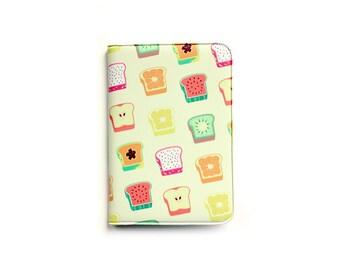fruit toast card wallet