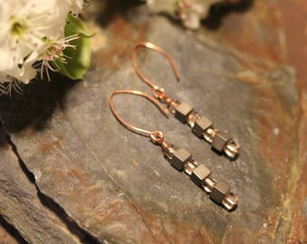 Dangle Beaded Earrings
