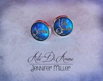 Hello Sweetie & Spoilers Dangle or Stud Earrings