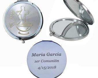 First Communion (12 PCS) Compact Mirror. 1er Comunión, Primera Comunión,  Años comunion 1er GG088