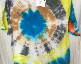Tie Dyed T-Shirt Adult Large  (AL-8)