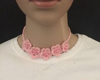 Little Princess crochet necklace