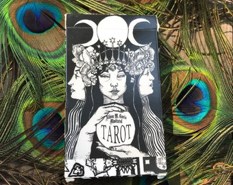 Tarot card deck