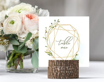 Table Number Cards - Urban Garden (Style 13813)