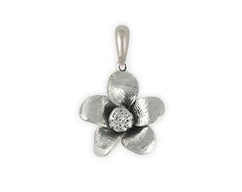 Cherry Blossom Pendant Jewelry Sterling Silver Handmade Flower Pendant CBB1-P