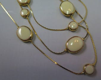 Triple Strand Avon Necklace