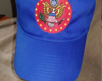 Army Seal Cap -Unlicensed  closed out item.