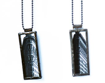 FLATIRON PENDANT - Photo Pendant