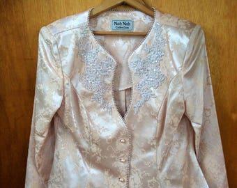 Women's Brocade formal jacket/blazer