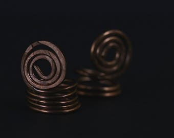 Wire Wrapped Copper Ring