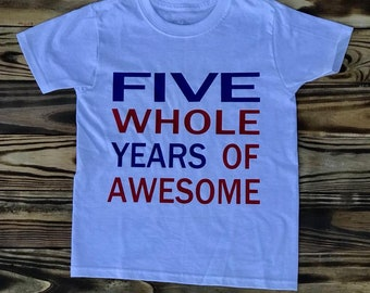 5 Whole Years of Awesome!