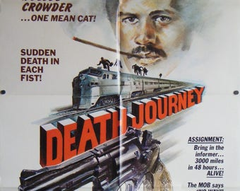 Death Journey - 1975 - Original US one sheet movie poster