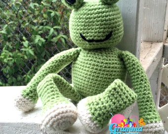 Freddie the Frog Ami pattern