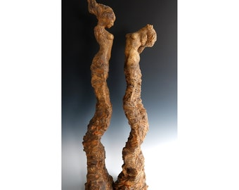 The Bernini Sisters - Ceramic - Sculpture - Figurative - Fine Art