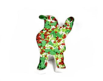 Waving Santa Cookie Cutter, Baking and Candy Making, Bakeware, Cookie Cutters