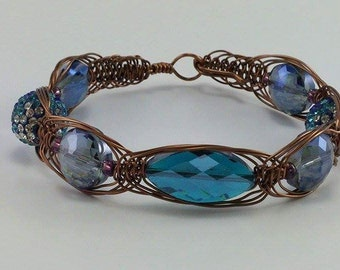 Aquamarine Mermaid Dream Bracelet