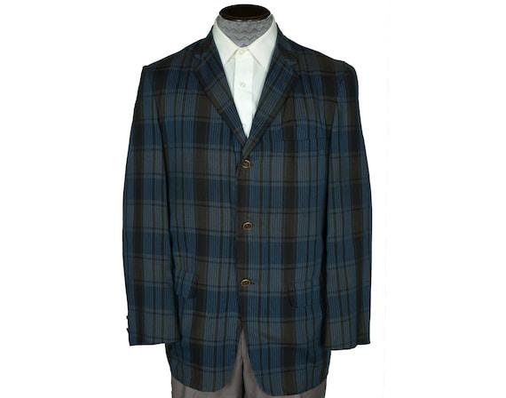 Vintage McGregor Tweed Jacket Men Sport Coat Jacket Blazer 70s 80s Style  Jacket Bohemian Boho Preppy dd678f64ffd