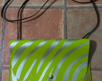 Leather bag for an exciting spring/summer