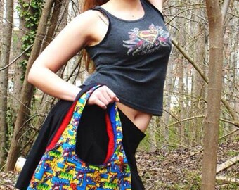 Superman Purse, fully padded and reversible