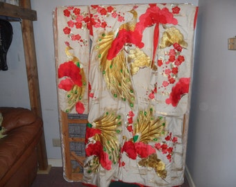 Kimono, Ceremonial, Japanese, Robe,
