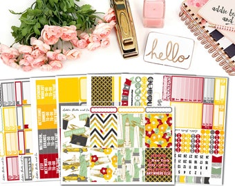 Empire state of mind[DELUXE] weekly planner sticker kit