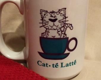 Cat-te' Latte Mug