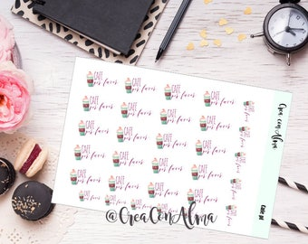 Decorative for agenda, journal/scrapbooking stickers. Planner stickers. Midori, traveler's notebook, planner, filofax, Erin Condren