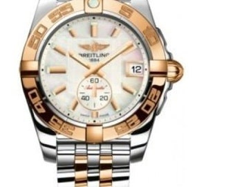 Breitling Galactic 36 mm Automatic SS and 18Y gold Model: C3733012/A724-376C