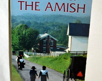 A History of The Amish, history book, story book, reference book