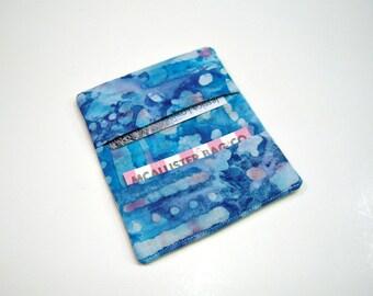 Blue Batik Wallet