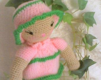 ROSY, mini doll hand made.