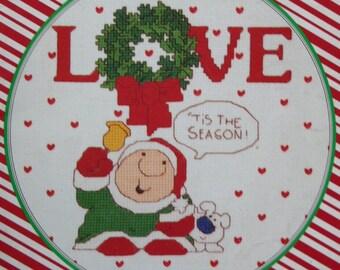 "80's Paragon Tom Wilson's ""Ziggy"" cross stitch pattern book"