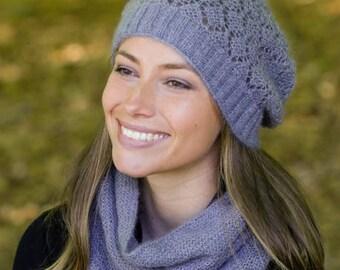 Kidsilk mohair Slouchy Beanie hat (S-M-L sizes) choose colour you like