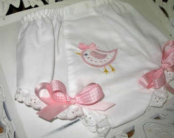 Little Pink Chick Bloomers