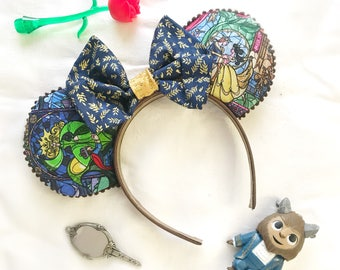 Beauty and the Beast Disney-inspired Mickey Ears