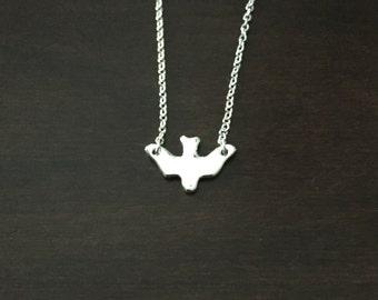 bird necklace, bird jewelry, bird pendant, bird necklaces, silver bird necklace, silver bird pendant, swallow necklace, swallow jewelry